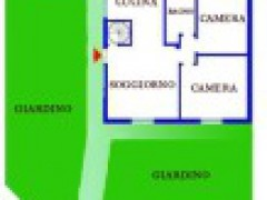 Row house with 3.000 SqFt of terraces and patio and garden - 1