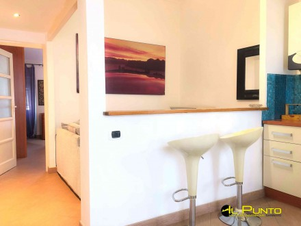 SANREMO in typical Ligurian House, near piazza San Siro, two-roomed apartment renovated and furnished