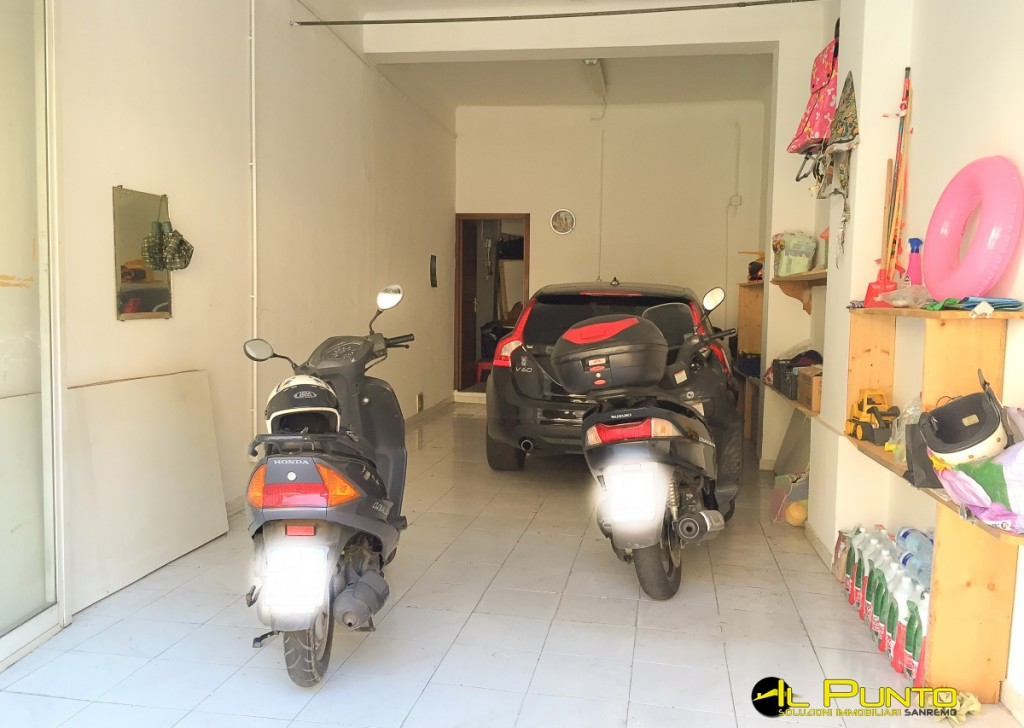 Sale Box, Parking Spaces, Warehouses Sanremo - 45 sqm garage access more comfortable Locality