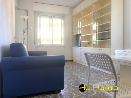 SANREMO furnished apartment with kitchen and balcony.