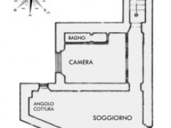 SANREMO San Siro Cathedral area, apartment to be renovated.  - 1
