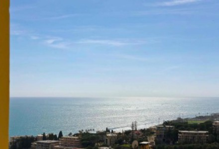 SANREMO four rooms to be renovated, Seaview