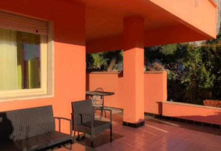 SANREMO in residential apartment with terrace and garage