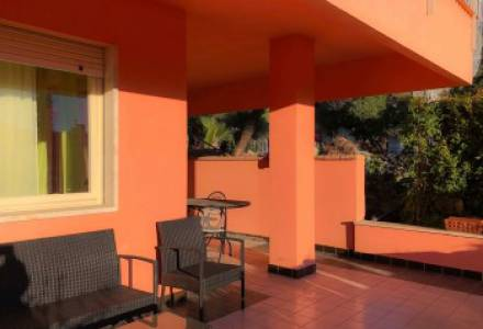 SANREMO in residential apartment with terrace and garage.