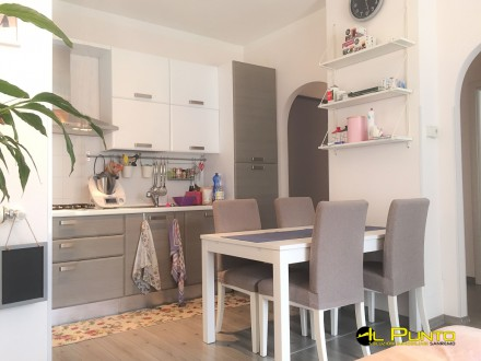 Fully renovated two-room apartment in a residential area.